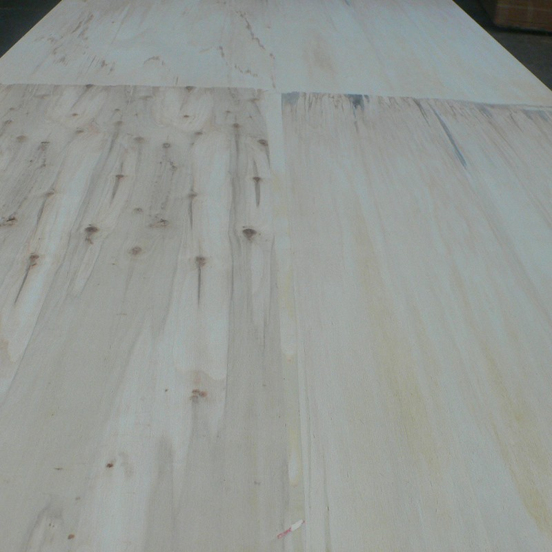 Raw plywood