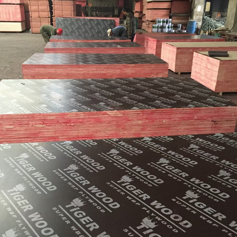Film faced plywood with hardwood core combi core poplar core